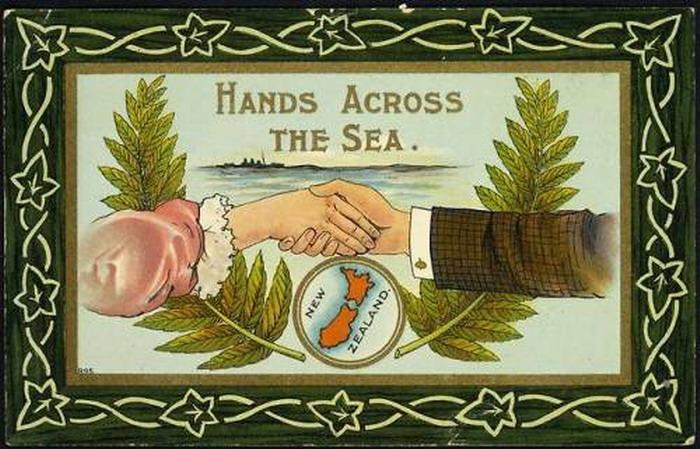 New Zealand: Hands Across theSea