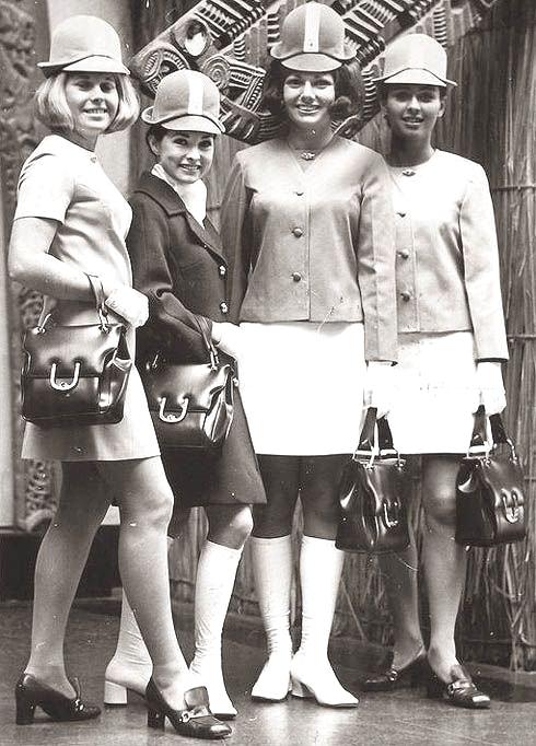 Air New Zealand stewardesses,1960s