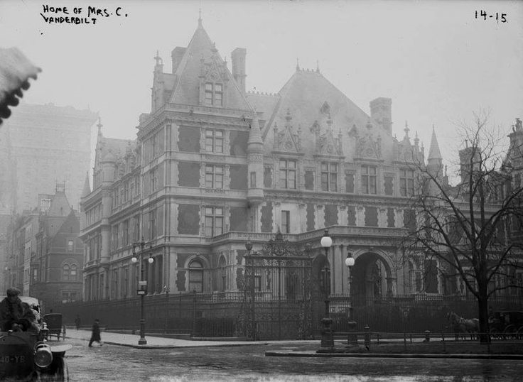The Cornelius Vanderbilt II House, West 57th Street, NYC,1915