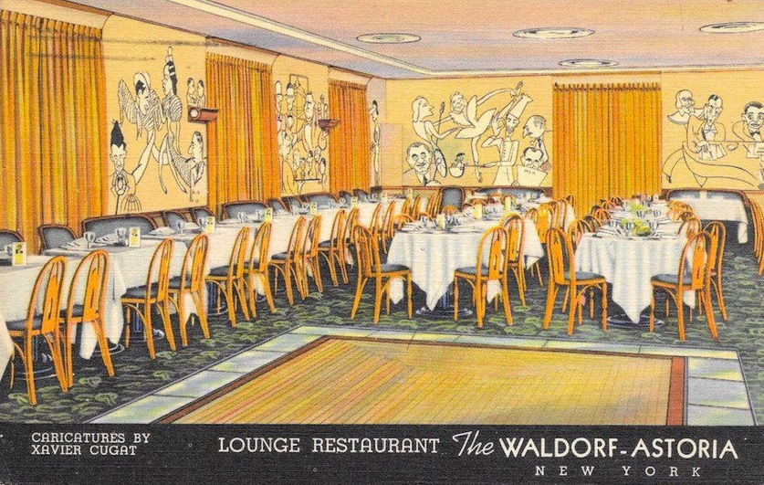 Waldorf-Astoria, NYC, 1930s