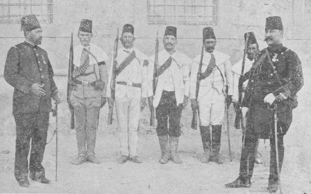 Ottoman Empire soldiers and officers