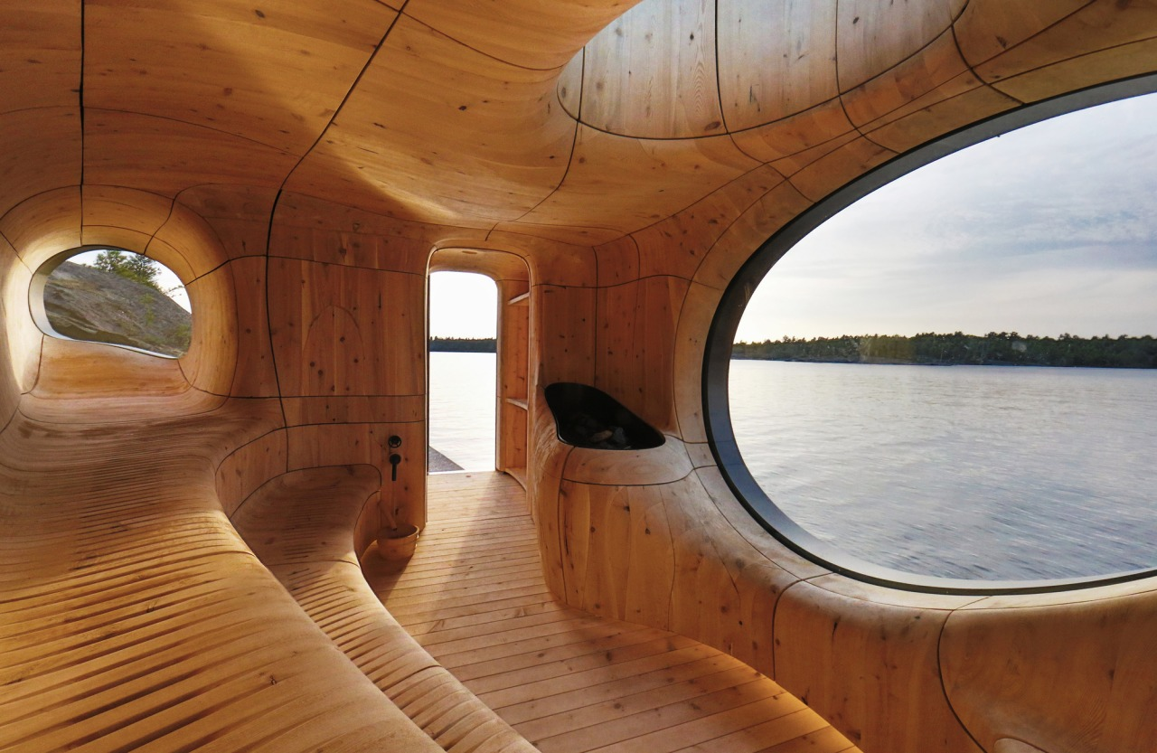 Sauna, Georgian Bay,Canada