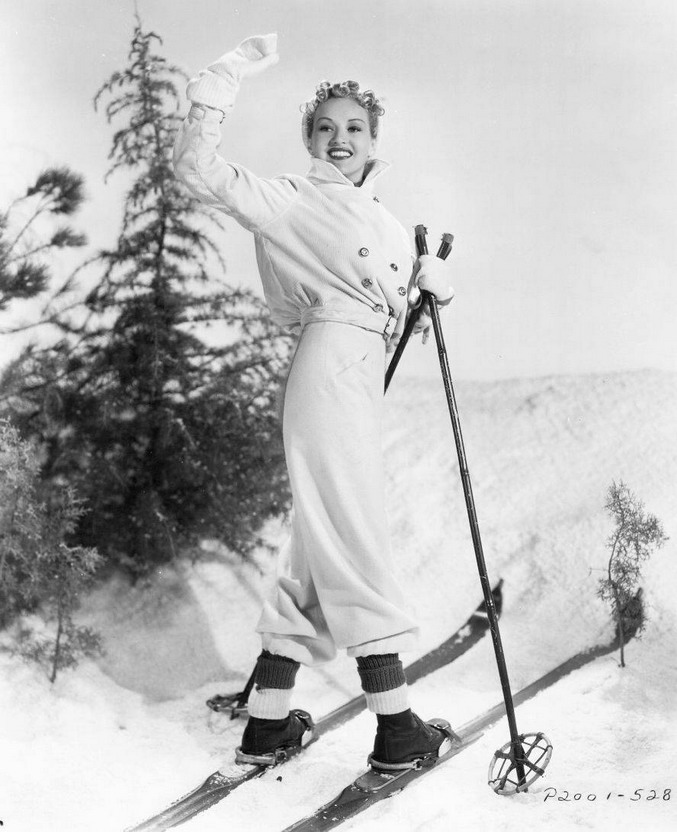 Betty Grable onskis