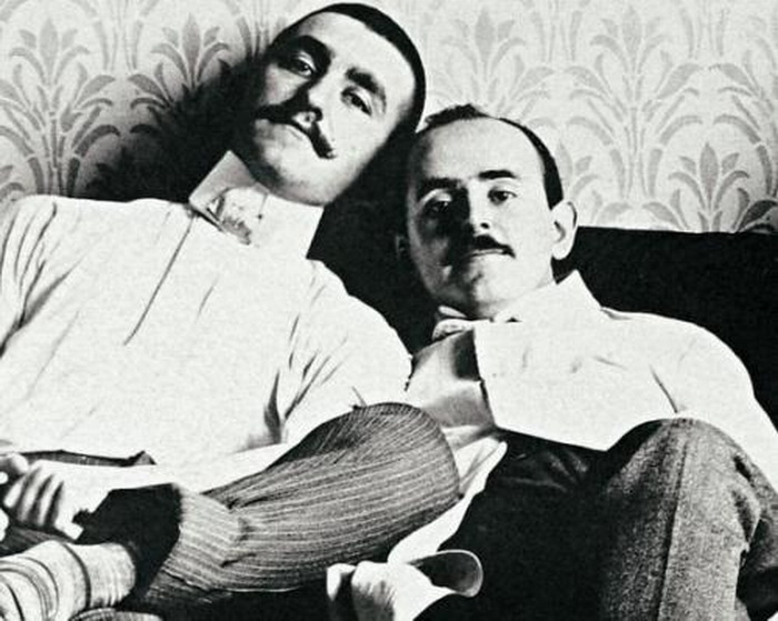 Vintage Mustachioed MenTogether