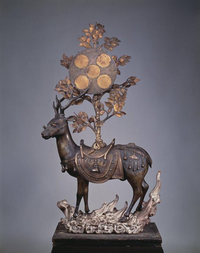 Deer Statue, Japan