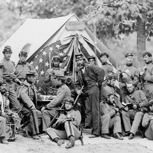 A battalion from New York, US CivilWar