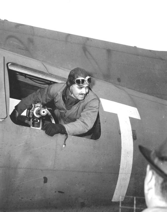 WWII CLARK GABLE