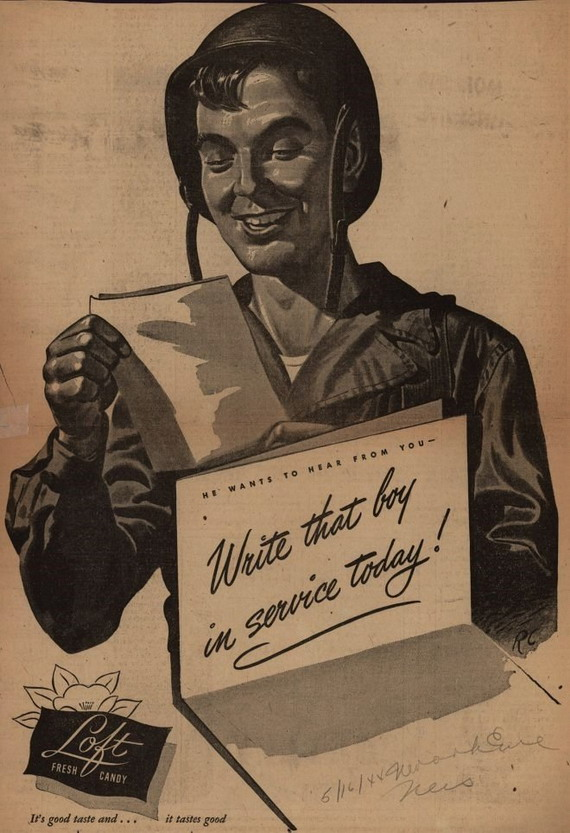 Write to the soldiers, WWII