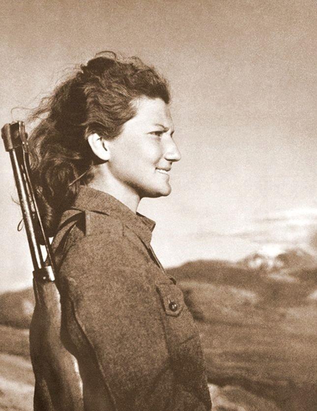 Yugoslavian anti-Nazi resistance fighter,WWII