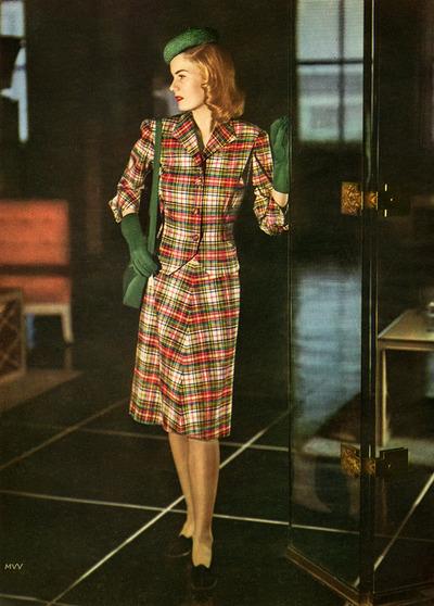 Vogue, mid 1940s