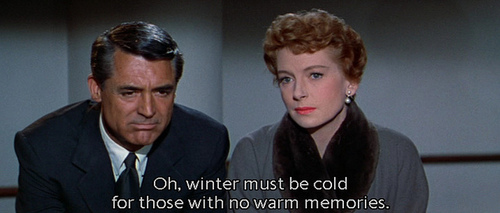 "Cary Grant and Deborah Kerr with one of my most favourite lines from an old movie (""An Affair to Remember"")"