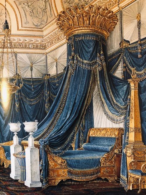 Bed belonging to Grand Duchess Alexandra Feodorovna