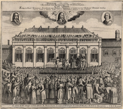The execution of King CharlesI