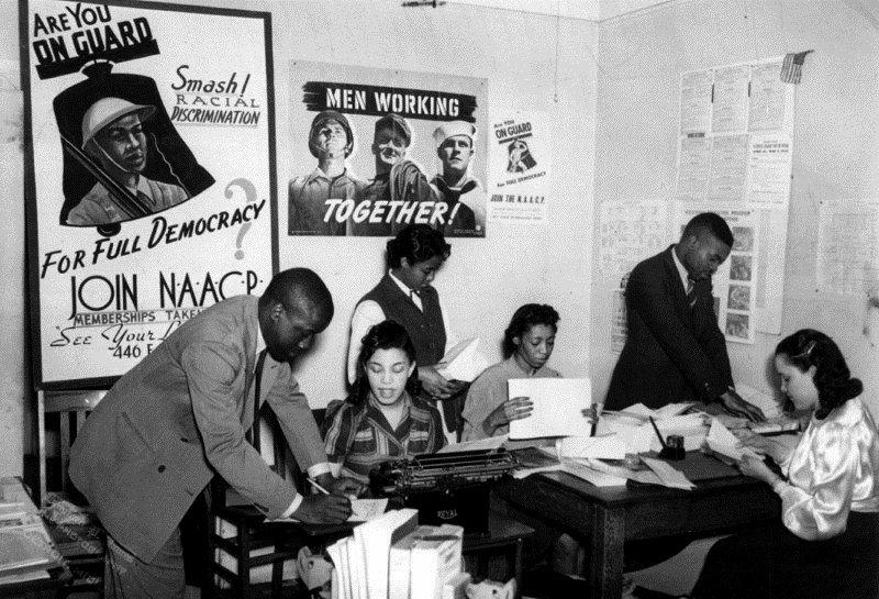 N.A.A.C.P., Detroit, 1940s