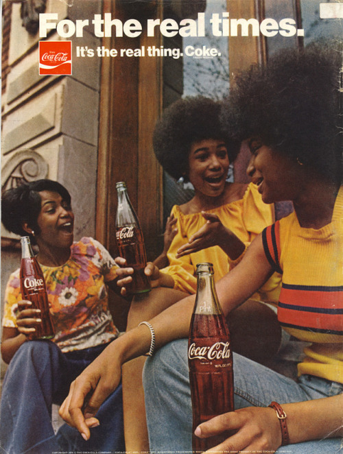 Coke ad, 1970s