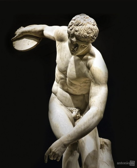 Ancient athlete