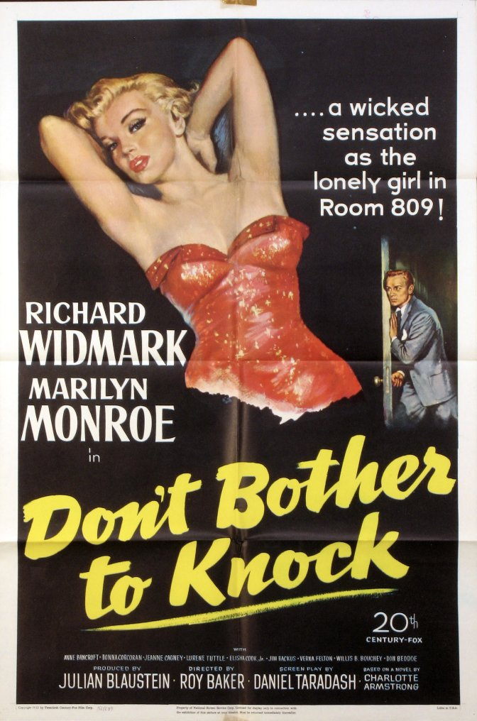 Don't Bother toKnock