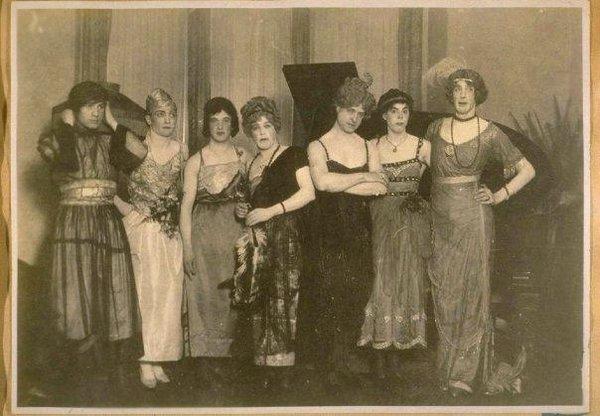Drag queens, US,1920s