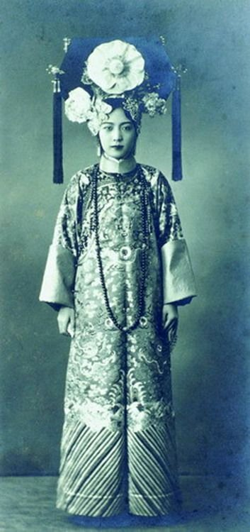 Empress Wan Jung, the last Empress of China