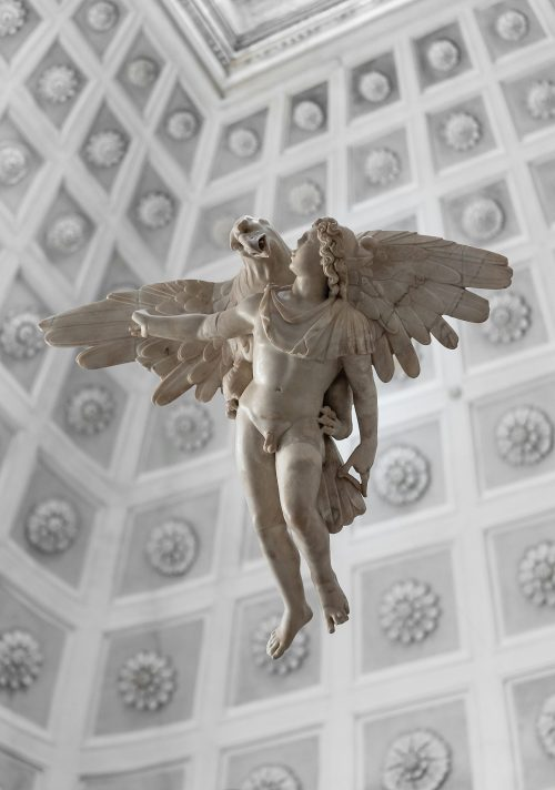 Ganymede at the Palazzo Grimani, Venice, Italy