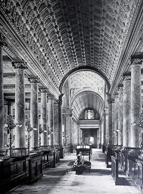 Inside the main room of the Reichsbank, Berlin,1903