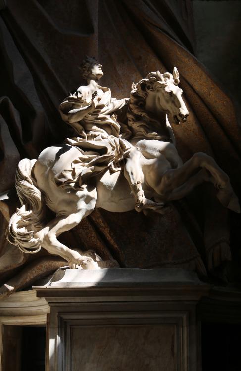 Gian Lorenzo Bernini - The Vision of Costantine I (1669)