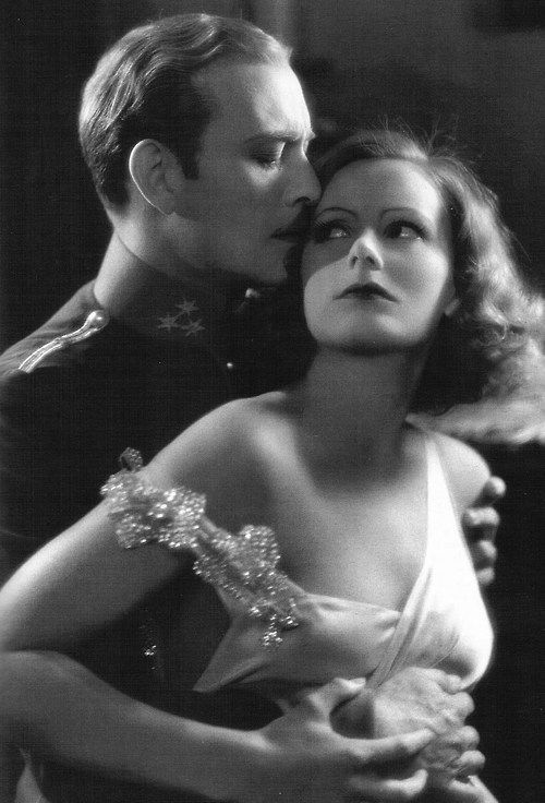 "Greta Garbo and Conrad Nagel in ""The Mysterious Lady"", 1928"