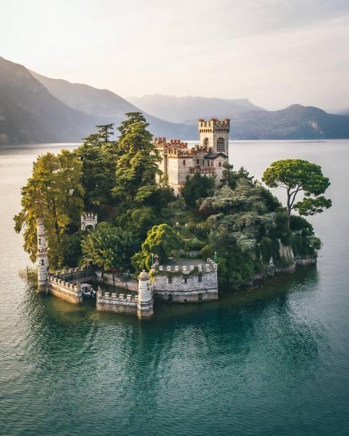 Isola di Loreto, Lago d'Iseo,Italia