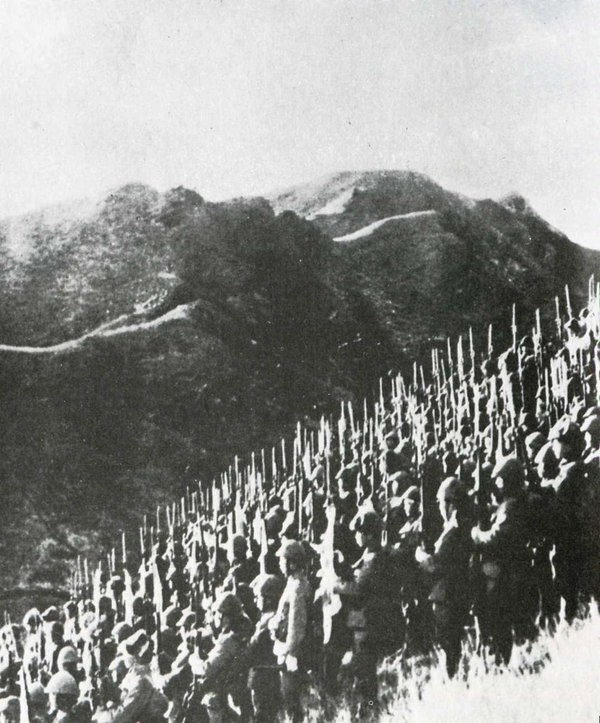 Japanese soldiers occupying Burma (Myanmar), WWII
