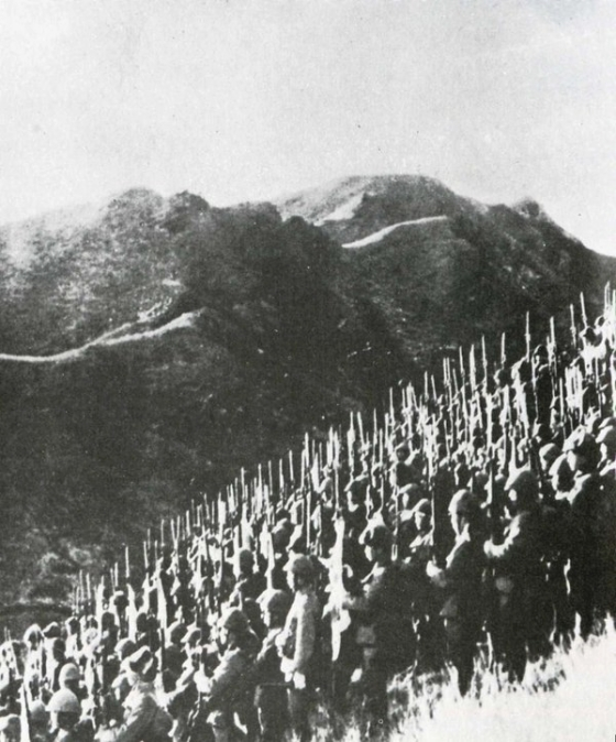 JAPANESE SOLDIERS OCCUPYING BURMA