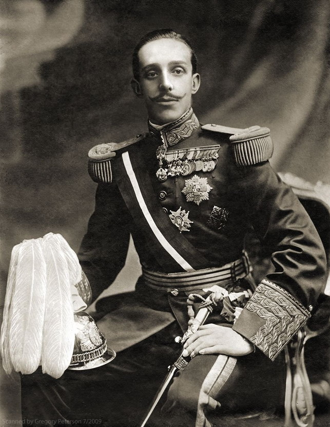 King Alfonso XIII of Spain, early1900s