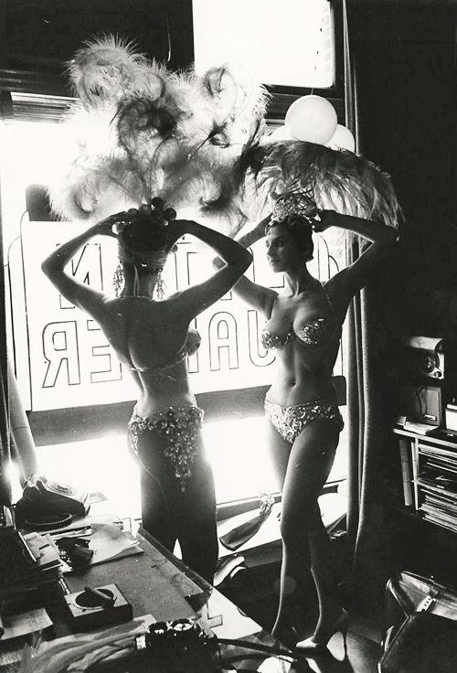 Dancers at the Latin Quarter,NYC