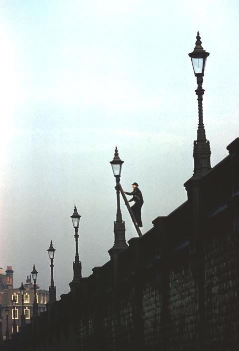 Lamplighter, London, 1950s