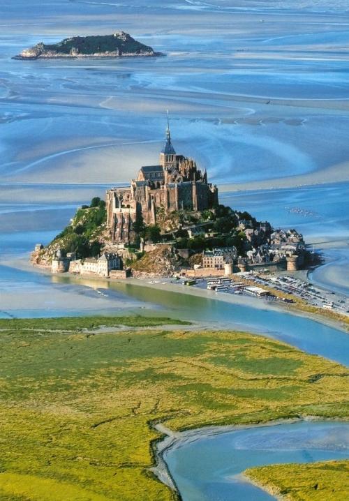 Mont St. Michel, Normandy,France