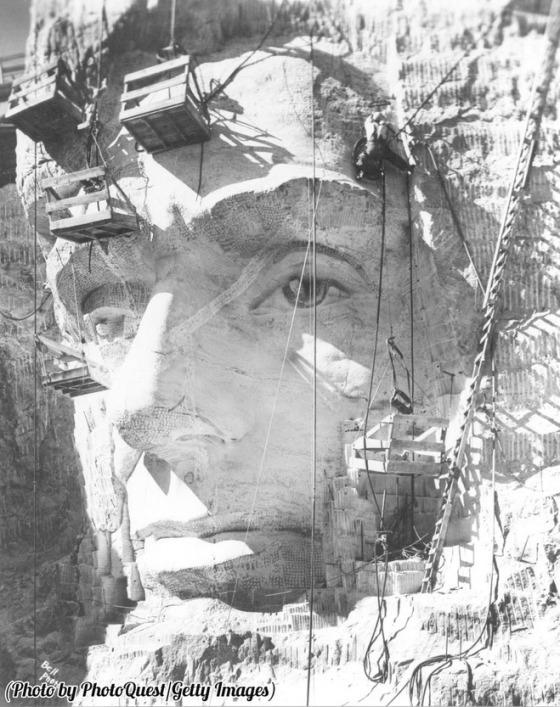MOUNT RUSHMORE 30s 4