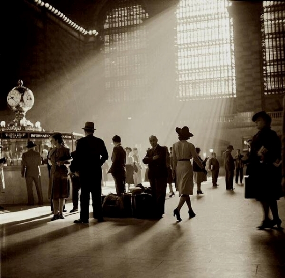 NYC Grand Central Terminal by John Collier, 1941