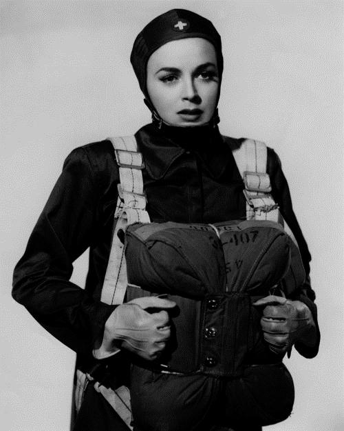 Paratrooper nurse, WWII