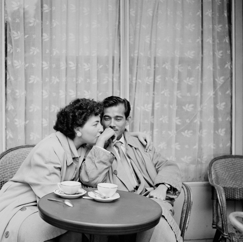 Lovers, Paris, Photo by Bill Perlmutter,1956