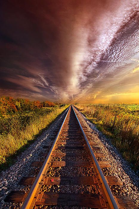 railine golden light