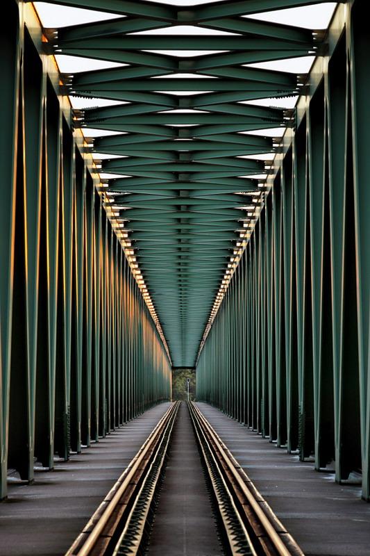 Railway Bridge by Gabor Jonas