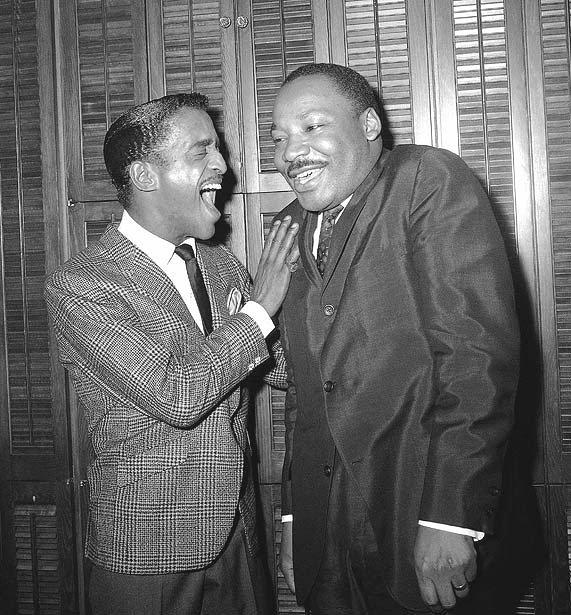 Sammy Davis Jr. and Dr. Martin Luther King Jr.,1960s