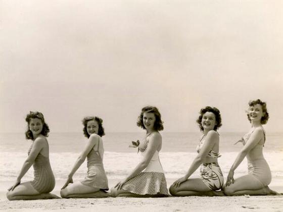 swimwear models 40s