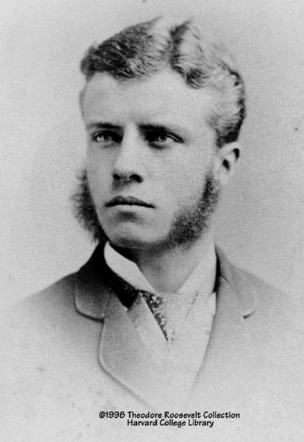 Theodore Roosevelt as a youngman