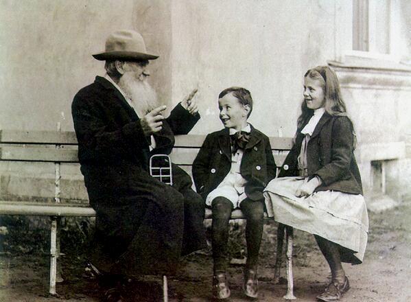 Tolstoy and hisgrandchildren