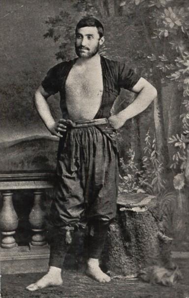 Vintage wrestler, Republic ofGeorgia