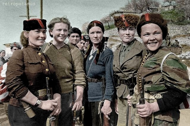Crimean (anti-Nazi) resistance fighters, WWII