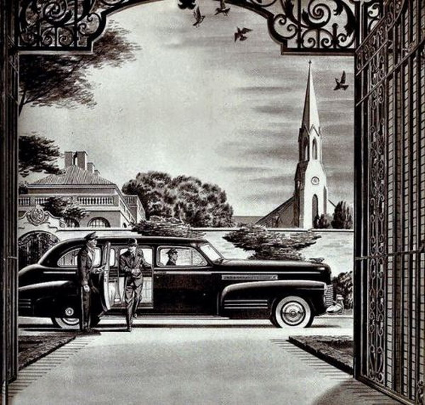 The 1941 Cadillac Fleetwood Limousine