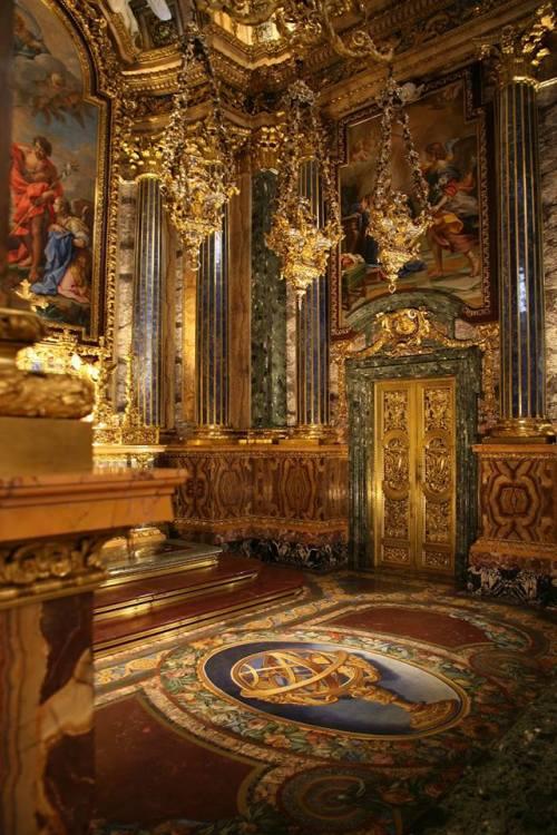 Chapel of Saint John the Baptist at Saint Roch Church,Lisbon