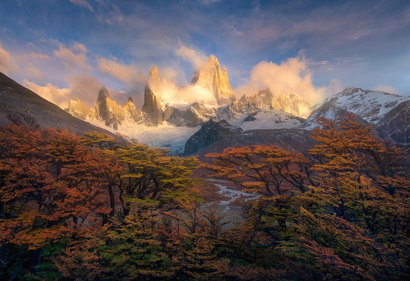 Mountains in Patagonia (Chile/Argentina)