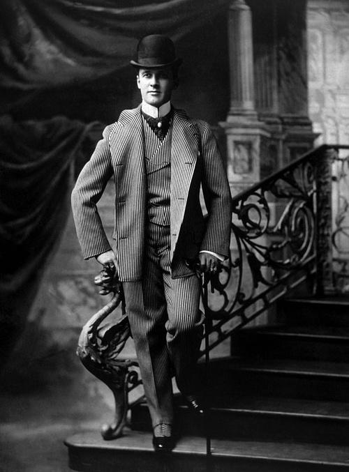 Dapper gentleman, 1800s
